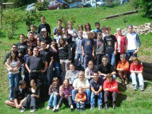Camp musical Vionnaz-Monthey à Leysin