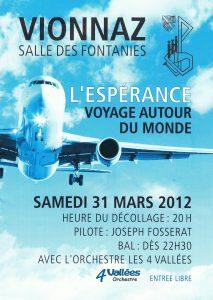 Concert annuel - Voyage autour du monde