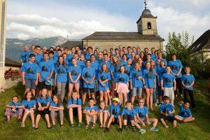 Camp de musique Vionnaz-Massongex-Collombey à Champéry