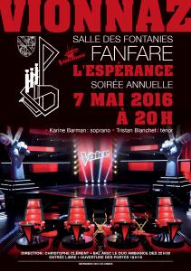 Concert annuel - The Voice